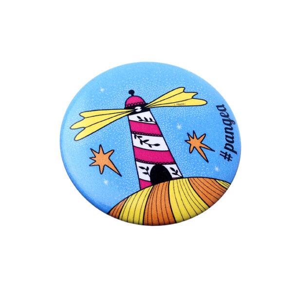 Pins-A-cura Faro bomboniera Pangea