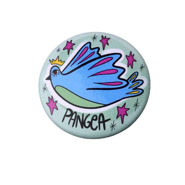 Pins-B-viaggio Uccello bomboniera Pangea