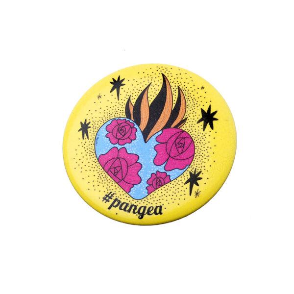 Pins-A-cura Cuore Regalo Pangea